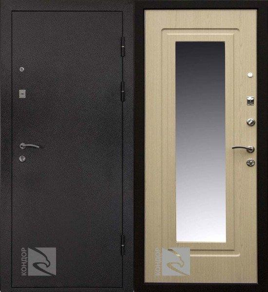 купить входную железную дверь с зеркалом в жуковском