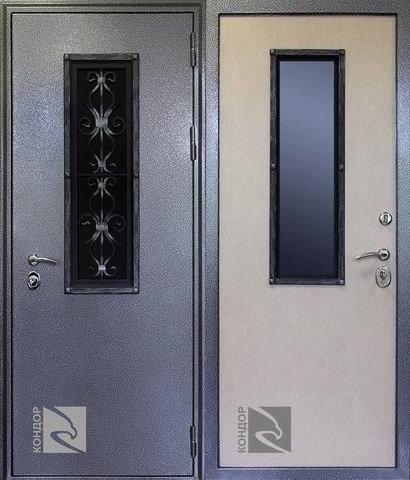 металлические двери для коттеджа стал